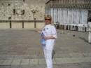 май 2007...Израиль...Иерусалим..Стена Плача...мы туда тоже свои записочки с желаниями положили...