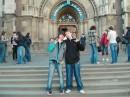 Дима и я во Львове.