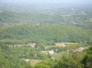 Долина - вид с верха горы. Аппалачи, штат Вирджиния.