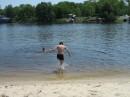 а вода градусов 12-13....:):):)....