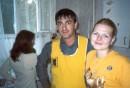 День рождения Ксюхи (слева)