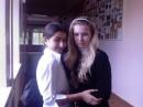 эт снова я с Женечкой в школе