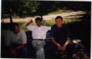 Нету лучше одыха чем шашлик.Я справа, слева мой папа, посредине знакомый по имени Бат