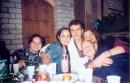 ...В Метрополе, День рождения, только раз в году! Я, Марина, именинник Андрей, Высоцкий и друг именинника.
