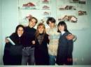 В техникуме...Марина, Сергей, Света ...Сережа и Марина( теперь оба - Репины )