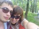 я и мой друг.... после пати отходим)))