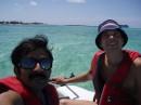 Chetan & Den,sail boat