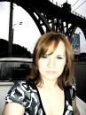 Автопортрет.) 2 июня. Мерефо-Херсонский мост. ж/м Победа. г. Днепропетровск.