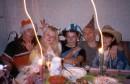 Осень 2003. Так мы праздновали Хеловин.