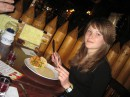 в ресторане)