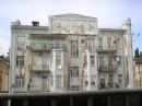 Киев, дом на углу Горького и Саксаганского