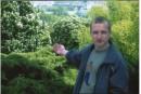 ... в Ботаническом саду...