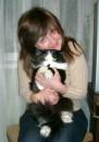 Мой любимый котей!