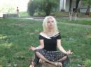 медитирую на природе