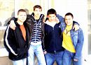 С группой