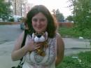 С тигренком Сашкой!:)