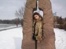 люблю зиму.......она чем-то похожа на меня:)