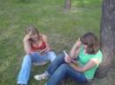 Девчёнки оклемались, что скоро экзамен!