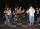 Сборы форума студентов Днепра, играем в живые шашки =))