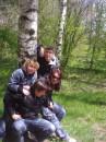 я незнаю что мы делали возле этой берёзы))))