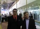 """С директором """"Альфа-феникс Крым"""" на выставке. Сергей Витальевич как всегда весь в работе... а я как всегда в очках..."""
