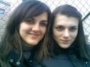Я та моя сестричка Надійка.