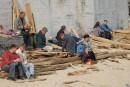 Одесса, 1 апреля, пляж Аркадия, 14.45