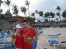 Моя сестра и её муж. Домениканская республика.