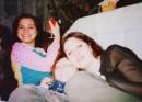 Веселый 2003 Новый Год!!! Каря,я и Юляшка!!!(мои подружки)