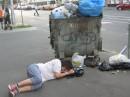 тіко шо винули зі смітника))