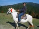 Первый раз на коне. Ощущения просто супер!!!
