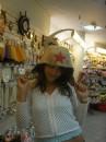 я в шапочке для сауны!!!