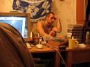 эт я в бывшем общежитии играю в герои 3 ))