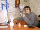 День рождения 2004. Двое суток пьянки... И на работе... Хреееееново! :(
