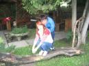 С любимым Хомкой! :)