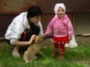 """Я, Сашка и щенок, которого нам подкинули """"добрые"""" люди...."""