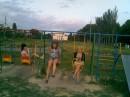 Детсский сад на прогулке...
