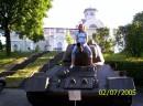 за спиной замок, между ног  - дуло, а все это в  городе Корсунь-Шевченковский