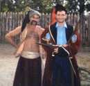 С козаками висел на Хортице, было круто...