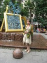 фонтан сооруженный к юбилею Третьяковки