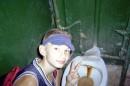 Вот такие вот удобства в спортивном лагере в Евпатории...