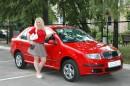 Это мы с моей новой машинкой