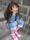 Это моя родная младшая сестричка. Сегодня на прогулке :))