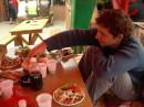 Шашлык на Ай-Петри даже после небольшого похода - пища богов :)