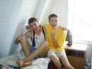 Я и Олежка - со мной в домике был))