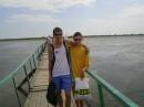 На мостике - по дороге к морю))))))))