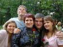 Оленька,Ромчик,Витальчик и Дашенька