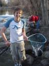 вот такой вот обломчик - 2.5 езды, 25 минут рыбалки потом назад 2.5 часа :( никакой романтики втыкания на поплувок та и поплавка воще :(