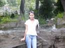 в зоопарке:)