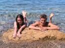 Я с партнёром по танцам после турнира в Севастополе! :)
